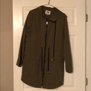 Long jacket (olive green)